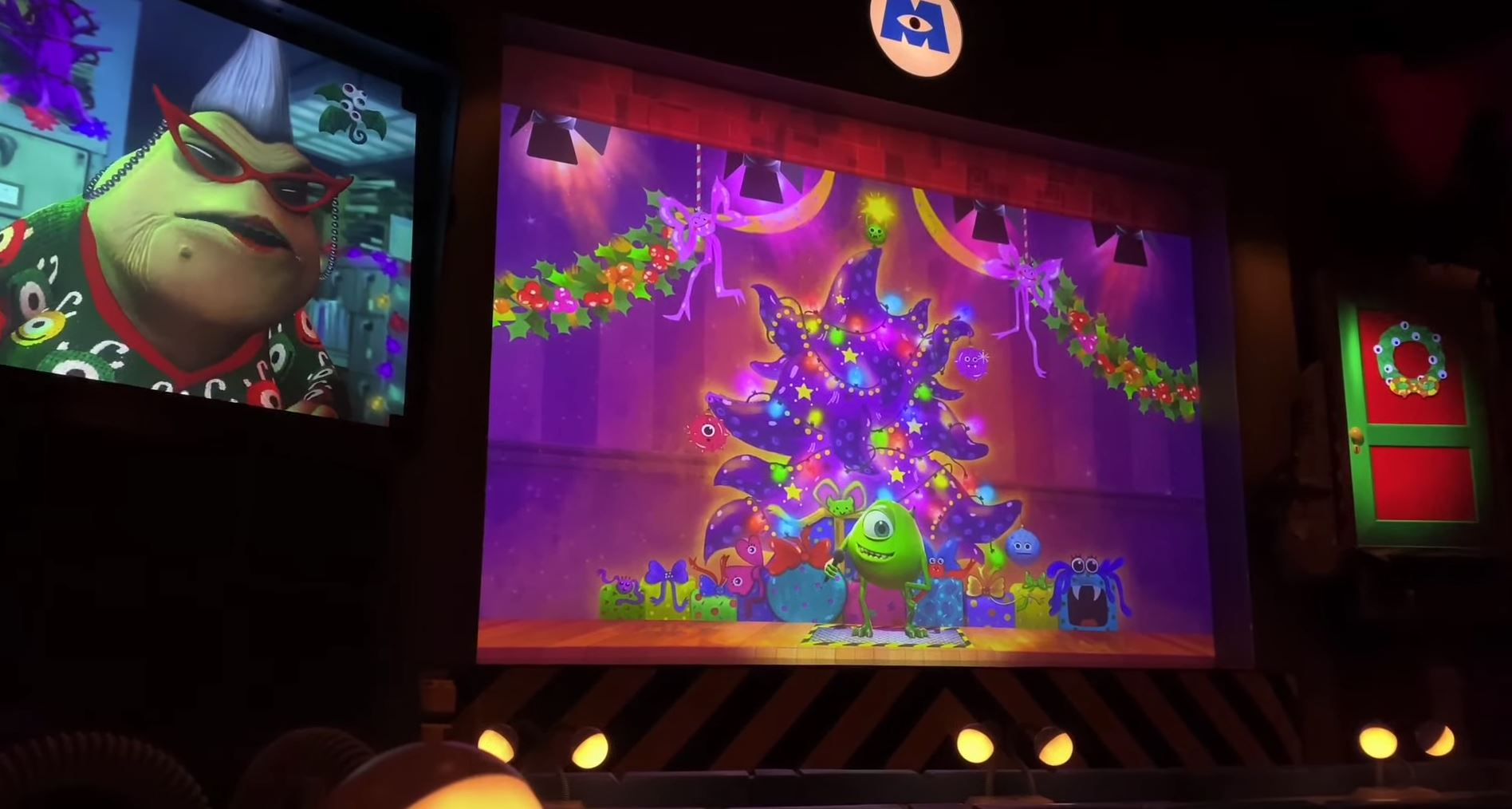 Monsters Inc. Laugh Floor Holiday